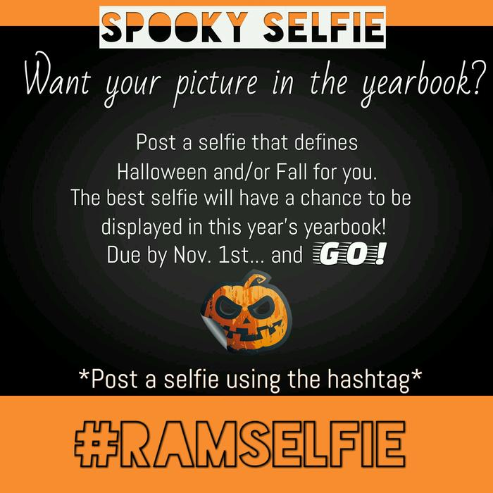 Spooky Selfie Competition